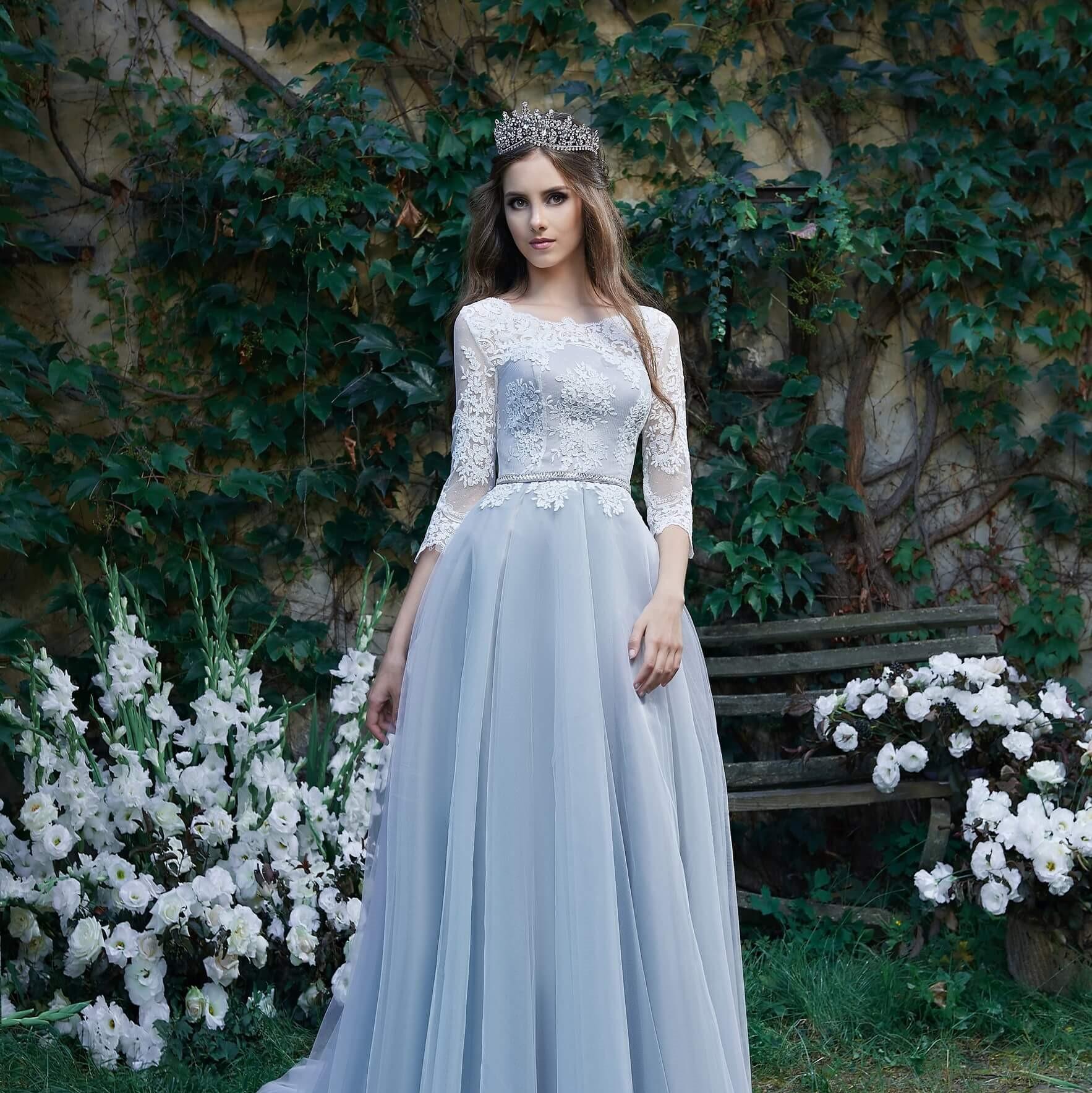 Фото 1 - Модные вечерние платья 2019