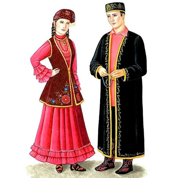 Фото 1 - Основные элементы татарского национального костюма