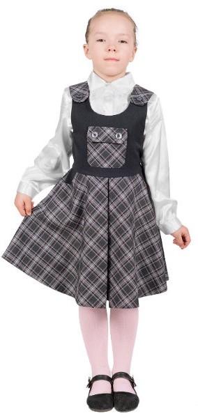 девочка в школьной форме