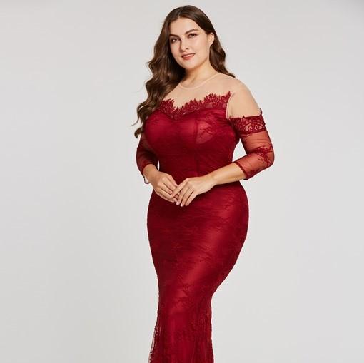 Фото 1 - Топ-10 вечерних платьев для полных женщин