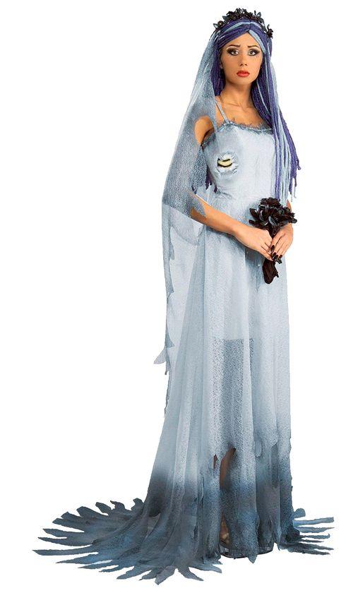 костюм мертвой невесты на хэллоуин