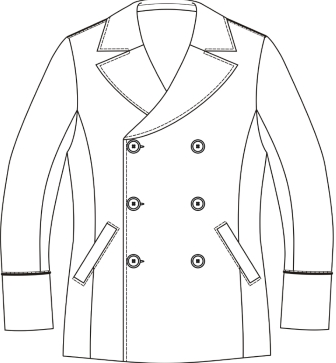 технология пошива мужского пальто