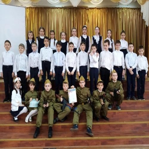 Фото 1 - Казанские школьники заняли первое место в конкурсе на 23 февраля!