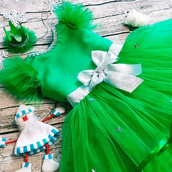 Фото 1 - Какой костюм на Новый год 2021 выбрать на утренник девочке