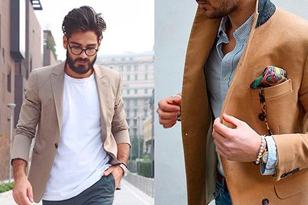 с чем носить пиджак мужской фото