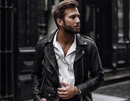 с чем носить кожаную куртку косуху фото