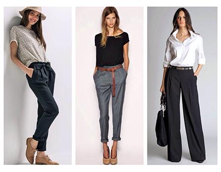 виды женских брюк фото