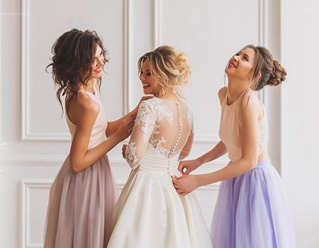 фасоны платьев для подружек невесты фото