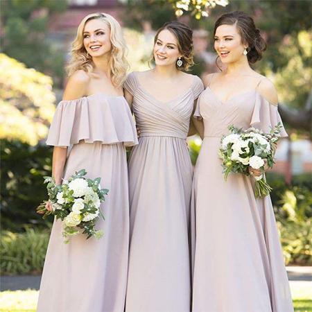 Фото 1 - Платье подружки невесты 2021