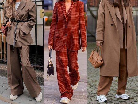 брюки палаццо 2021 с чем носить фото