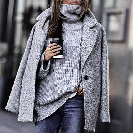 Фото 1 - Самые теплые ткани на осень-зиму